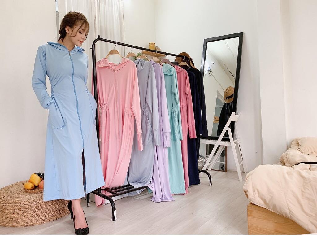 Mẫu mã áo chống nắng đa dạng, phù hợp với sở thích của mọi khách hàng