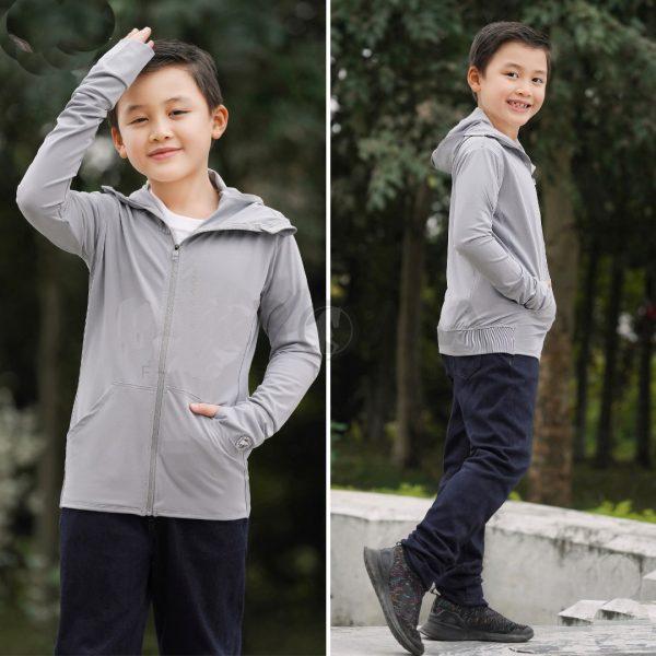 Lợi ích khi mặc áo trống nắng trẻ em
