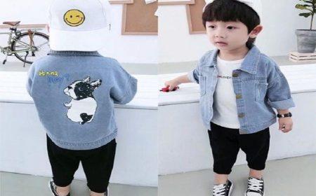 Áo bò cho bé trai